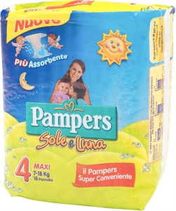 PAMPERS Sole e Luna | Test e Recensione PAMPERS Sole e Luna | Altroconsumo