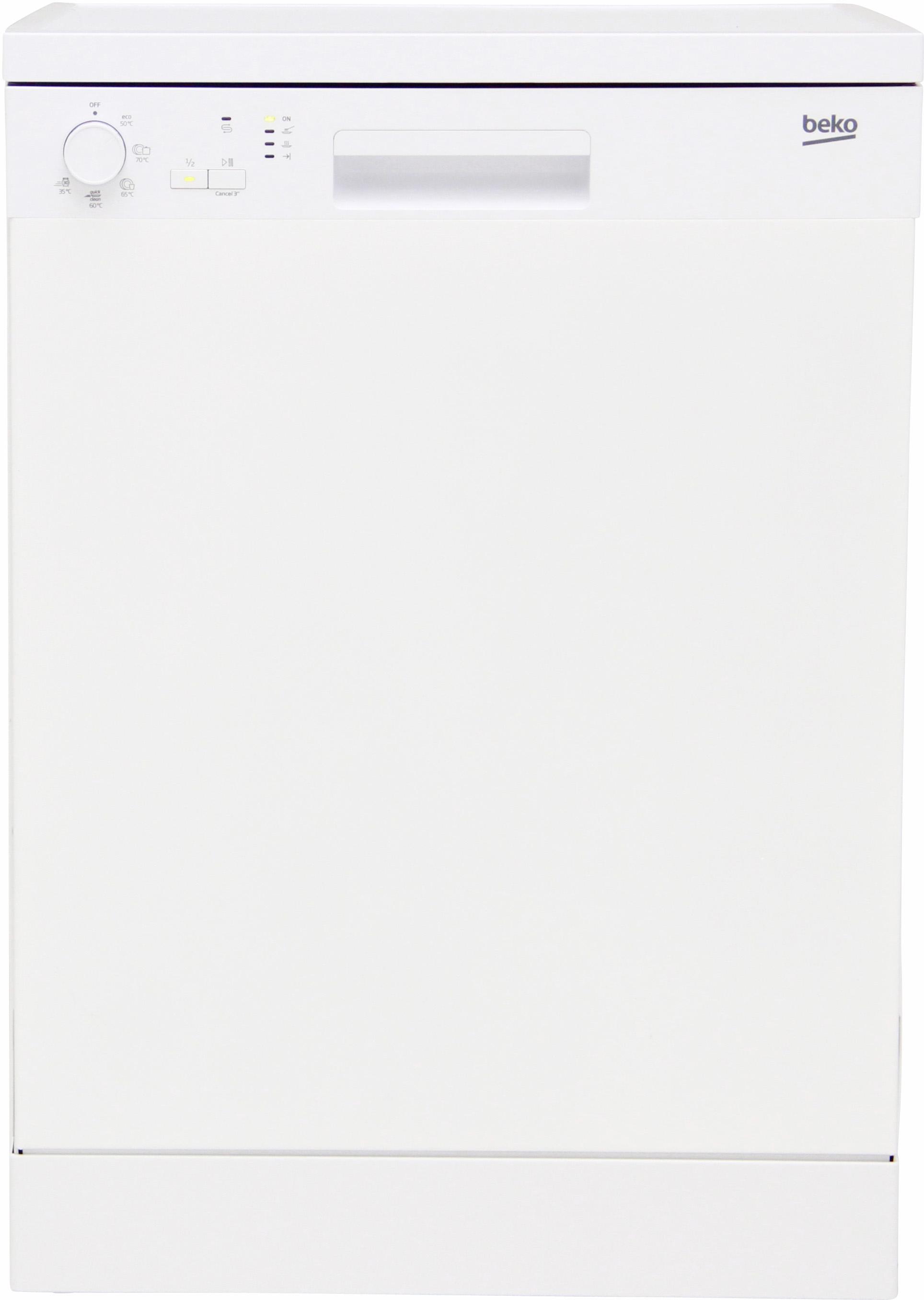 I dettagli del test sulla lavastoviglie BEKO DFN05210W