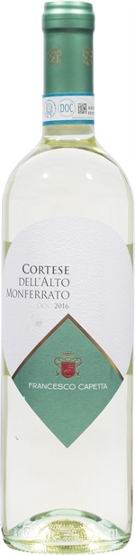 CAPETTA Cortese dell'Alto Monferrato DOC 2016