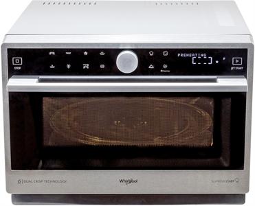 I dettagli del test sul forno a microonde WHIRLPOOL MWP3391SX