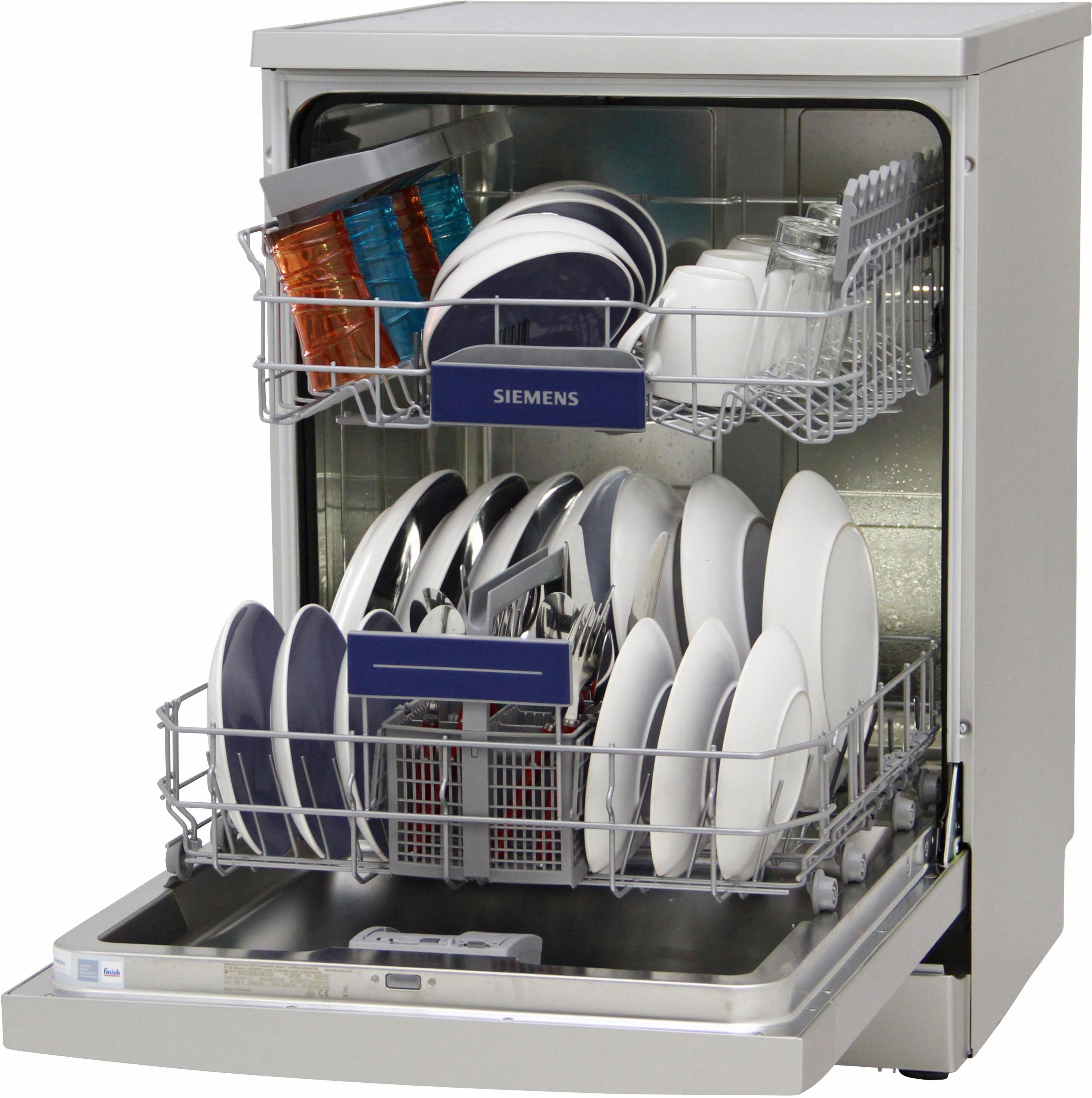 I dettagli del test sulla lavastoviglie SIEMENS SN236I00IE