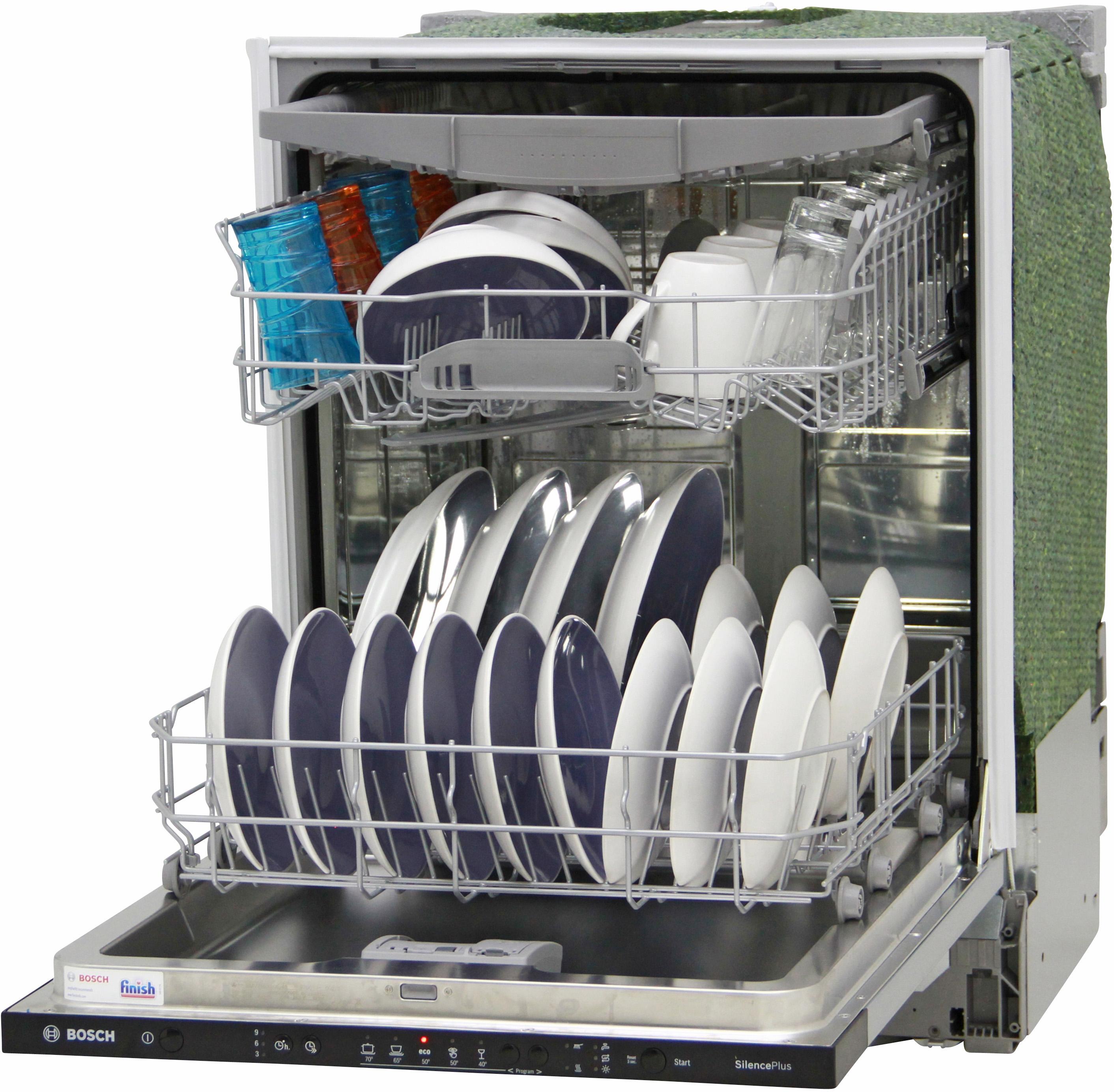 I dettagli del test sulla lavastoviglie BOSCH SMV25EX00E