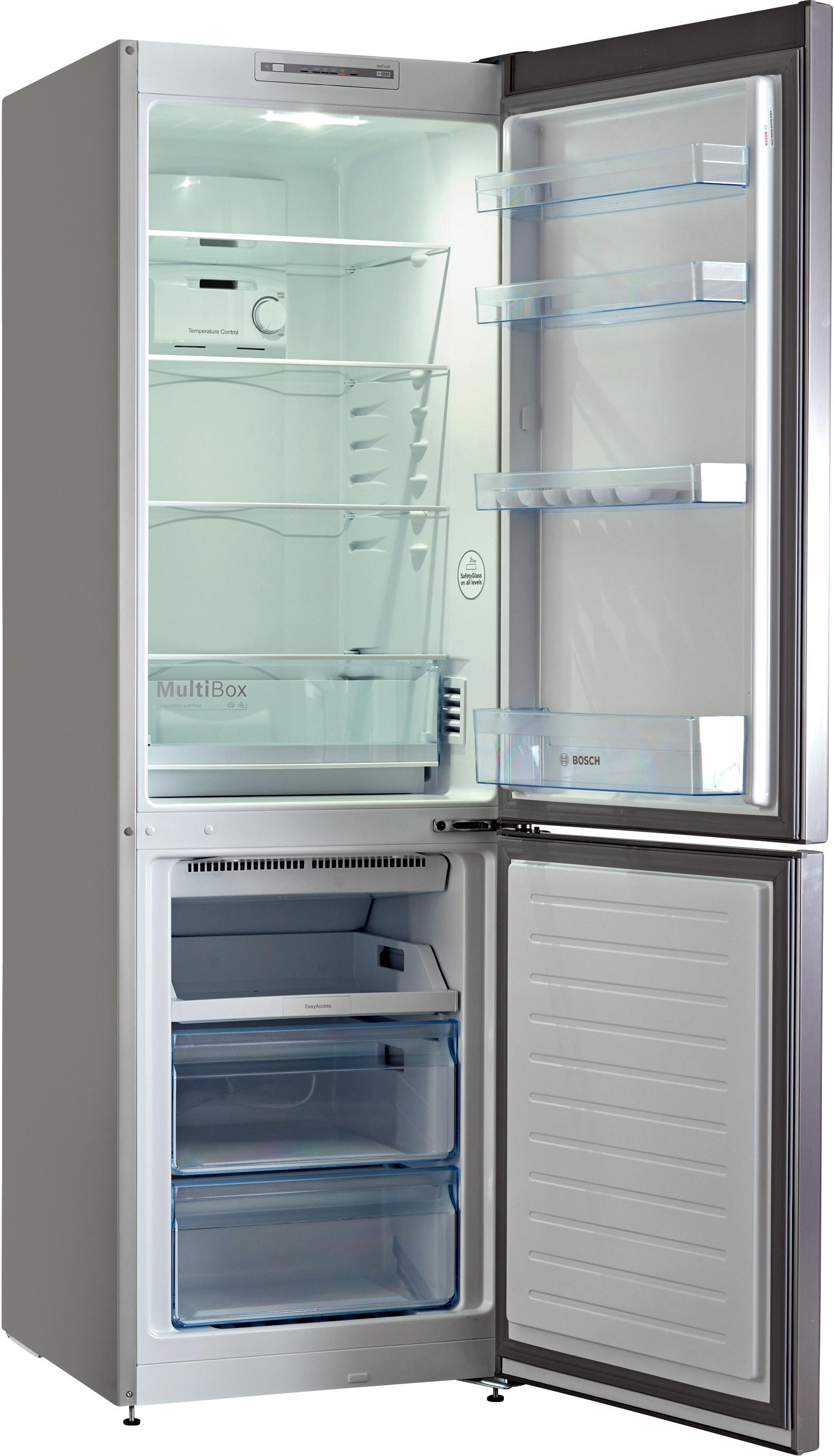 I dettagli del test sul frigorifero BOSCH KGN36NL30