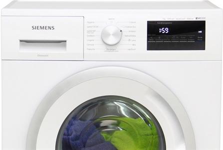 I dettagli del test sulla lavatrice SIEMENS WM12N227IT