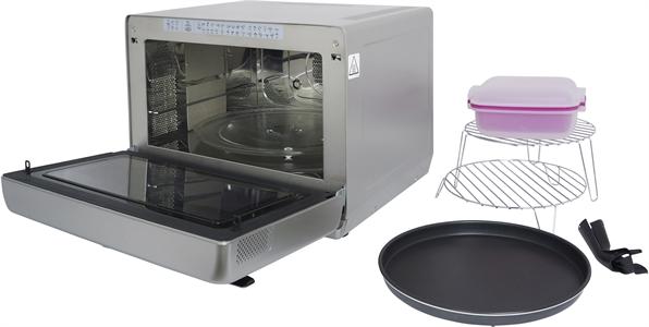 I dettagli del test sul forno a microonde WHIRLPOOL JT469SL Jet Chef