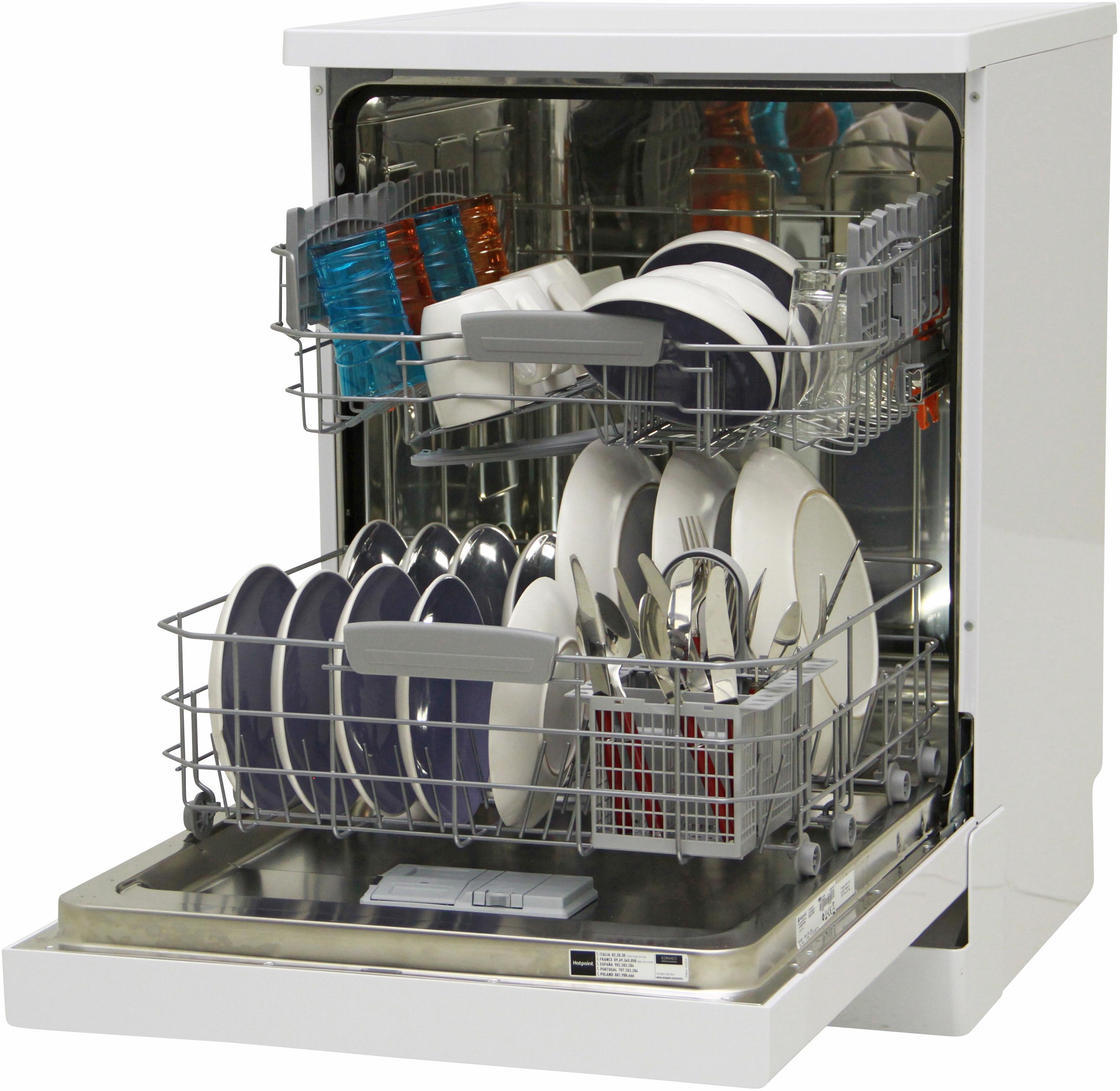 I dettagli del test sulla lavastoviglie HOTPOINT-ARISTON HFC 2B+26