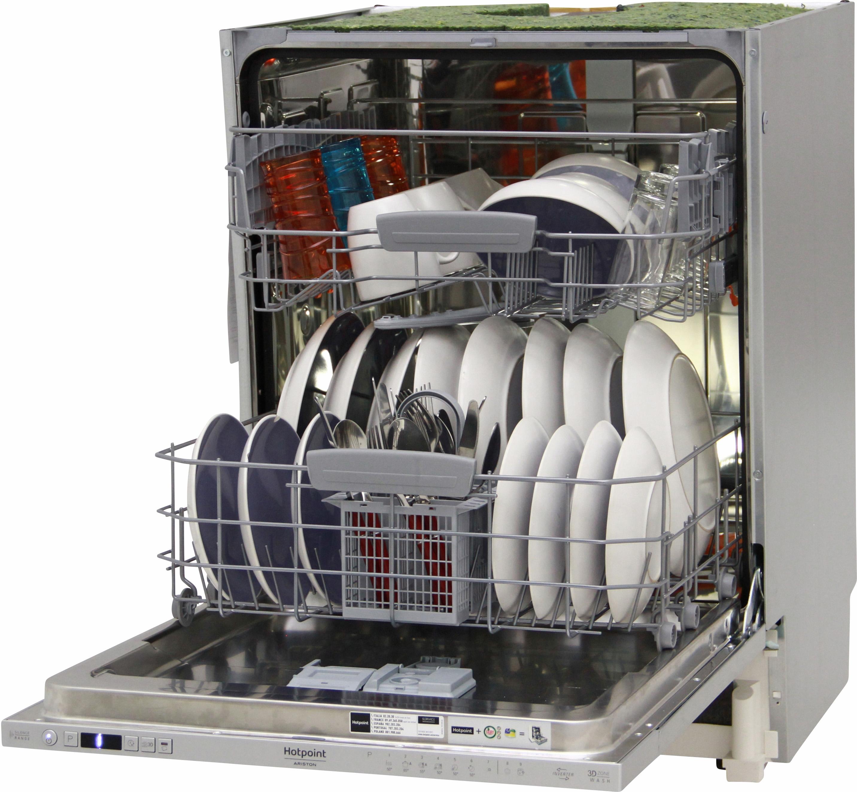 I dettagli del test sulla lavastoviglie HOTPOINT-ARISTON HIO 3C21 C W