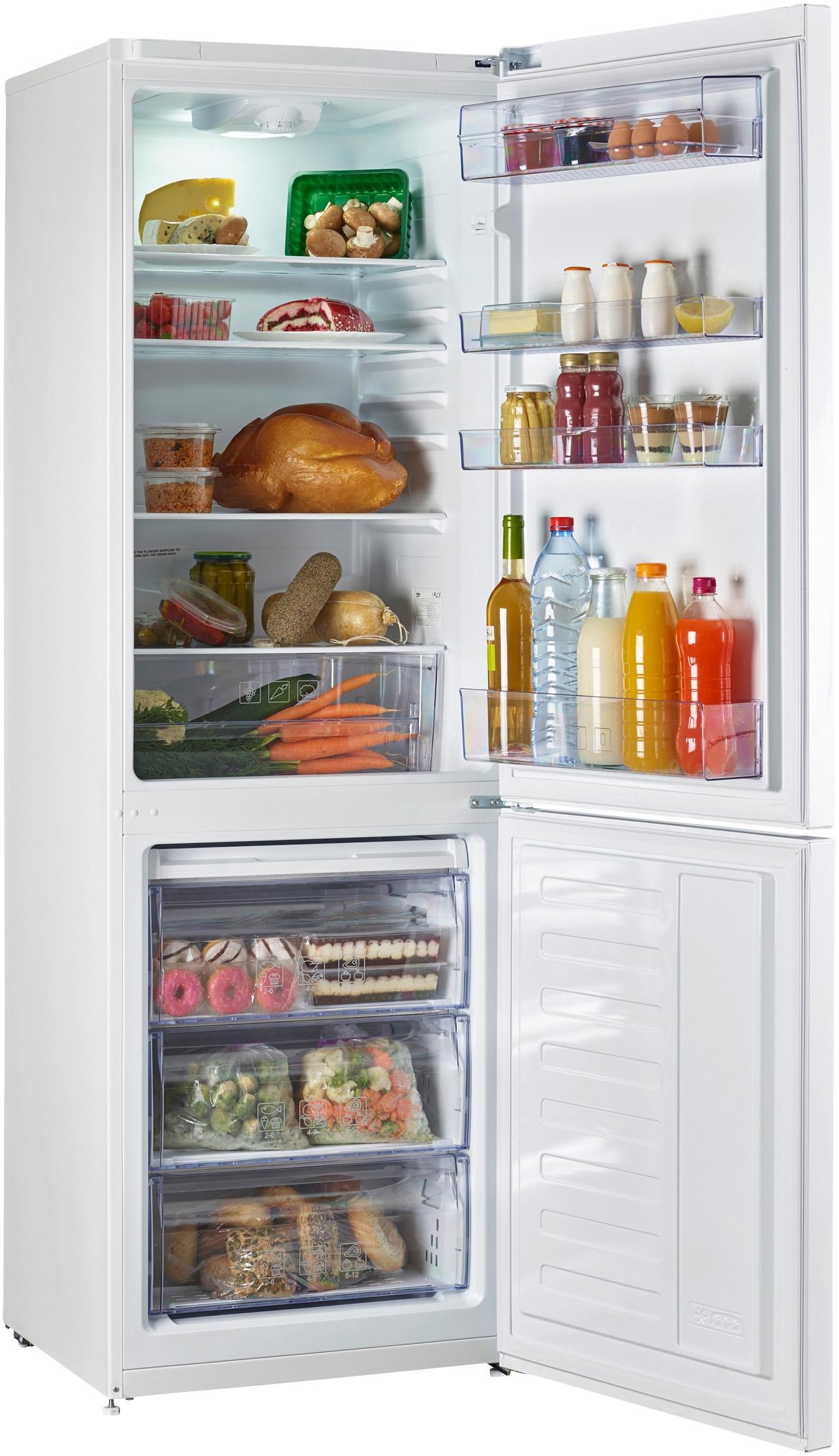 I dettagli del test sul frigorifero BEKO RCSA330K20W