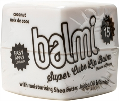 BALMI Super cube lip Balm coconut