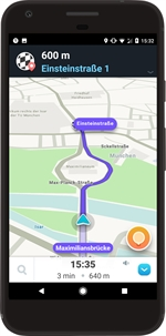 WAZE Navigazione GPS, Mappe & Traffico (Android)