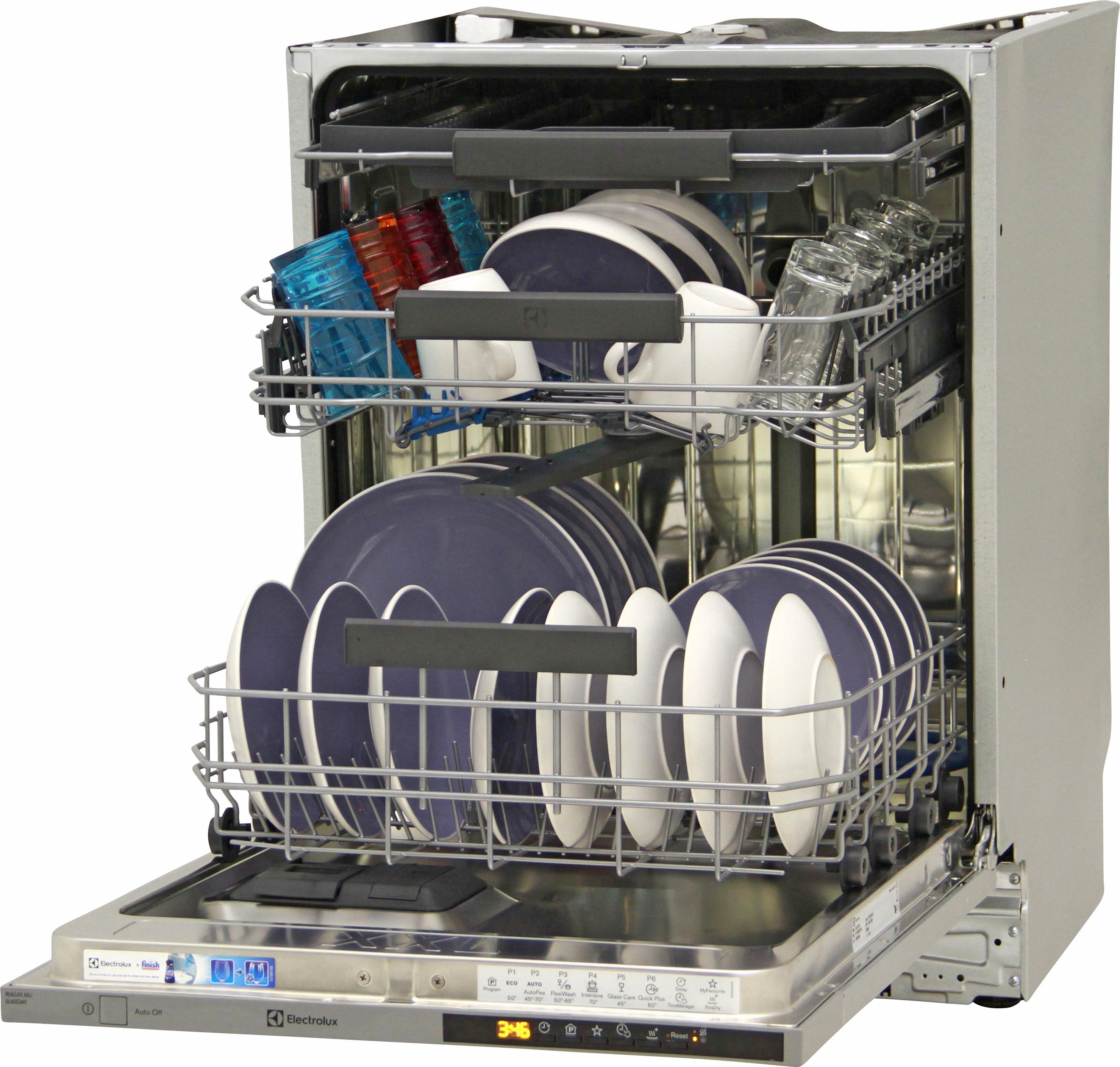 I dettagli del test sulla lavastoviglie ELECTROLUX ESL8315RO
