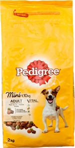 PEDIGREE Vital Mini Adult Pollo e Verdure | Classifica cibo per cani: I risultati del test | Altroconsumo
