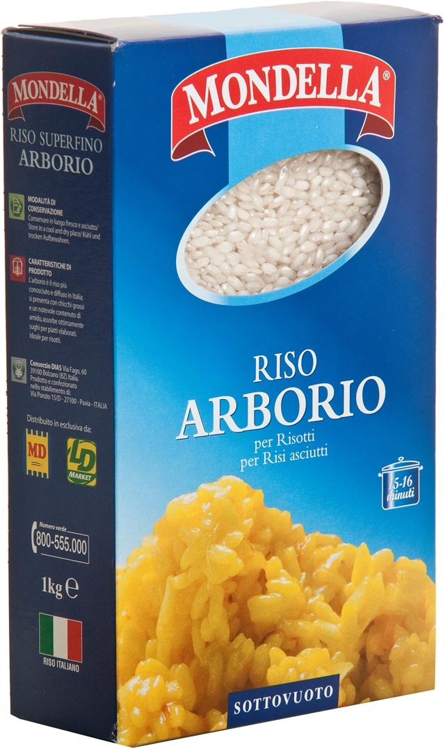 MD MONDELLA (MD)  Riso Arborio 1kg