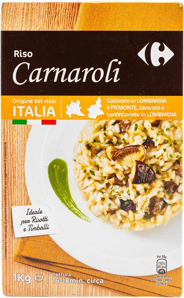 CARREFOUR Riso Carnaroli (1 kg)