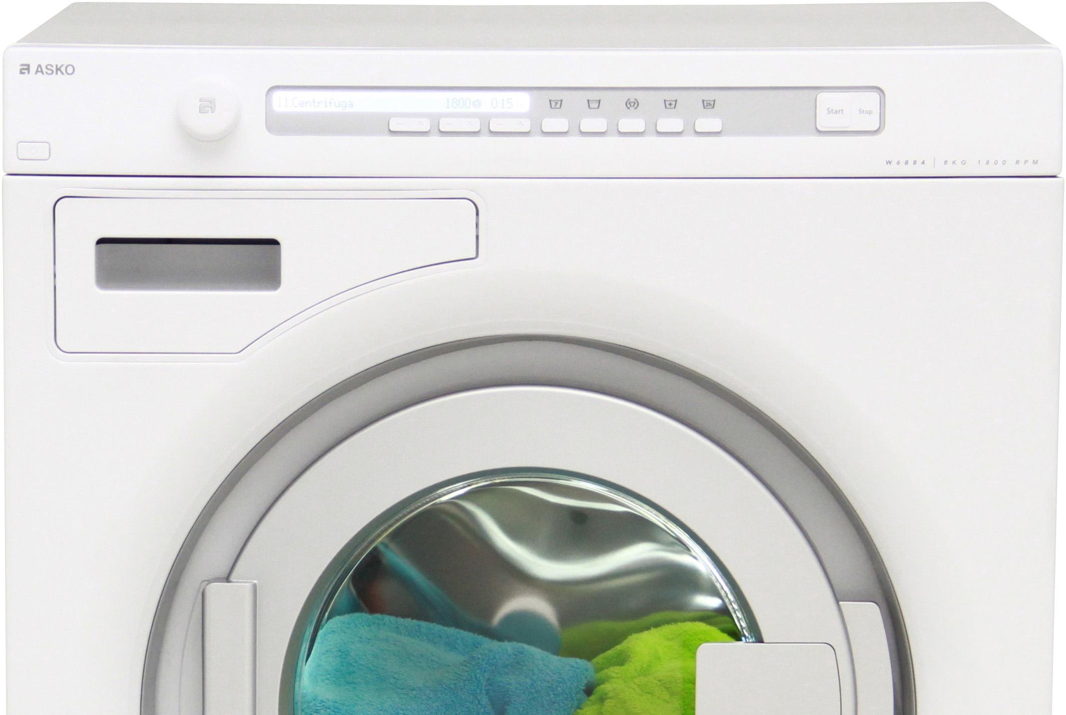 I dettagli del test sulla lavatrice asko w6884w for Lavatrice asko