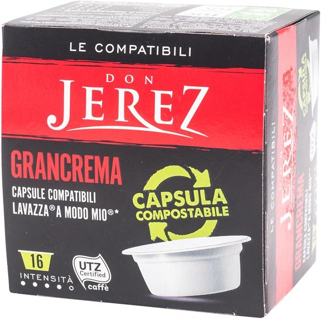 DON JEREZ  GRANCREMA COMPOSTABILE